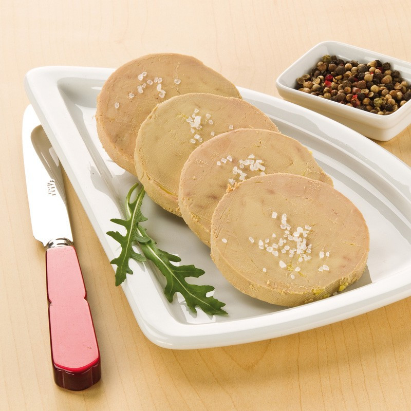 4 Blocs de Foie Gras de Canard 130 g