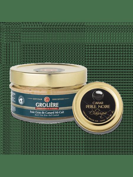 Foie Gras 120g and Caviar 20g