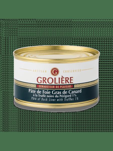 Pâté of Duck Liver with Truffles 1% - 50% Foie Gras
