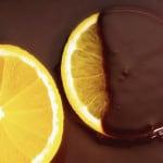 Candied Orange with dark Chocolate