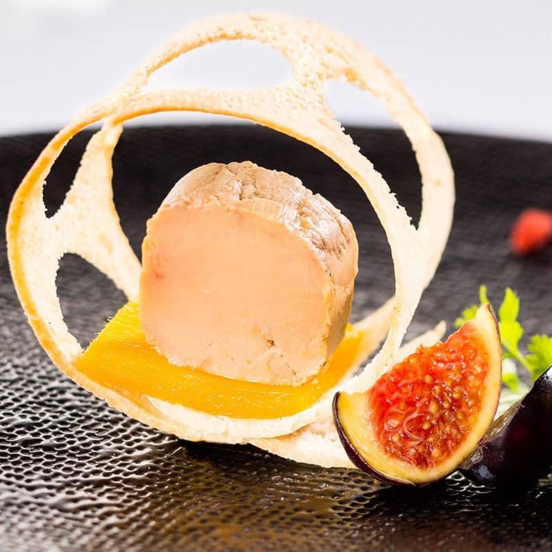 2 Foies Gras d'Oie Mi-Cuit du Périgord 180g