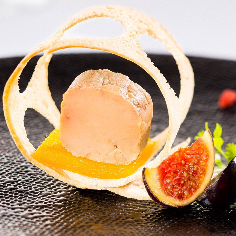 2 Foies Gras d'Oie mi-cuits du Périgord 300g + 1 Foie Gras de Canard Mi-Cuit